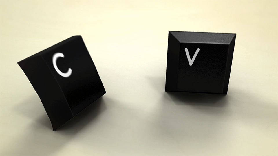Q仔愚人节短片 - C、V按键对话场景