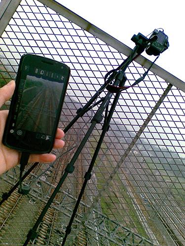 Android设备做相机可视快门线
