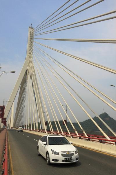 宜昌夷陵长江大桥
